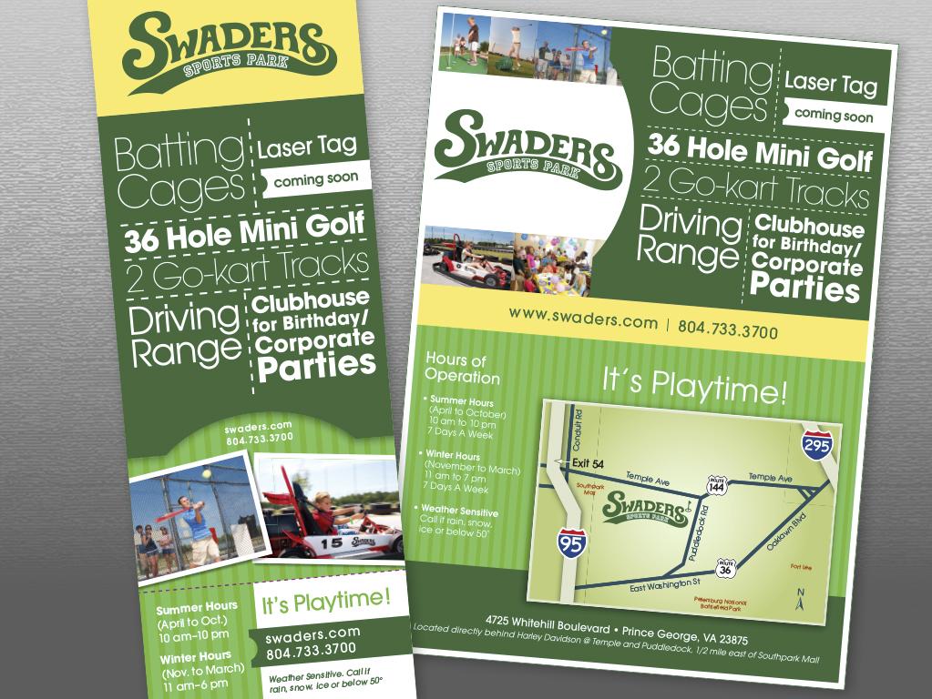 sports park brochures