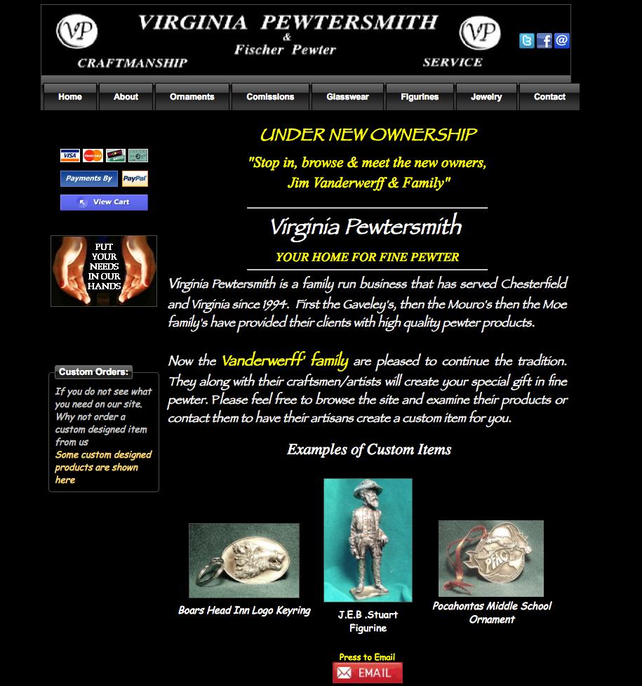 Original iPage Website