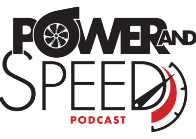 Power And Speed Podcast Logo Design