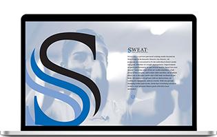 Sweat Website Design